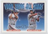 Larry Walker, Kirby Puckett