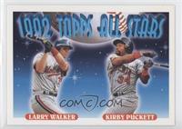 Larry Walker, Kirby Puckett