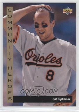 1993 Upper Deck - [Base] #36 - Cal Ripken Jr.