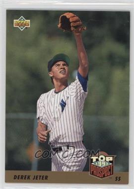 1993 Upper Deck - [Base] #449 - Derek Jeter