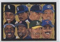 Checklist, Frank Thomas, Roberto Alomar, Barry Bonds, Kirby Puckett, Juan Gonza…