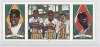 Hank Aaron, Willie Mays