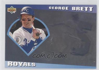 1993 Upper Deck Diamond Gallery - [Base] #24 - George Brett /123600