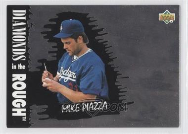 1993 Upper Deck Diamond Gallery - [Base] #34 - Mike Piazza /123600