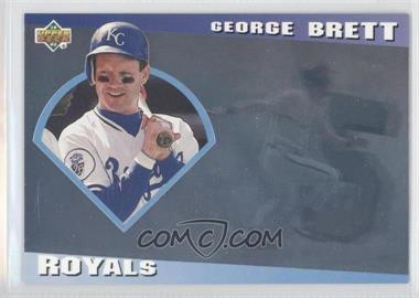 1993 Upper Deck Diamond Gallery #24 - George Brett /123600