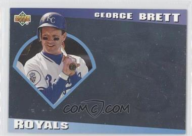 1993 Upper Deck Diamond Gallery #24 - George Brett /123600