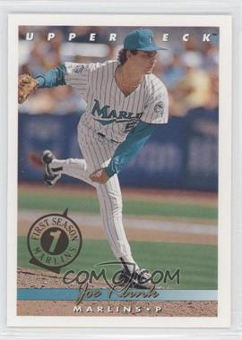 1993 Upper Deck Florida Marlins First Season #715 - Joe Klink