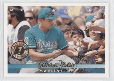 1993 Upper Deck Florida Marlins First Season #771 - Junior Felix