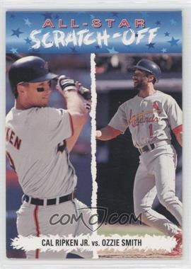 1993 Upper Deck Fun Pack All-Star Scratch-Off #AS6 - Cal Ripken Jr., Ozzie Smith