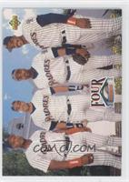 Gary Sheffield, Phil Plantier, Tony Gwynn, Fred McGriff