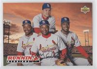 Runnin' Redbirds (Geronimo Pena, Ray Lankford, Ozzie Smith, Bernard Gilkey)