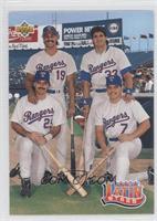 Juan Gonzalez, Jose Canseco, Ivan Rodriguez, Rafael Palmeiro