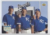 Wally Joyner, George Brett, Gregg Jefferies