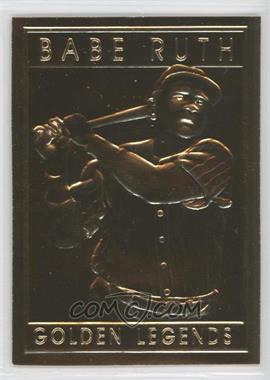 1994-97 Golden Legends of Baseball 22K #GLT - Babe Ruth