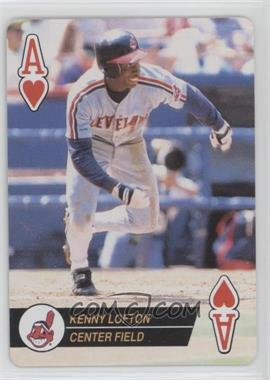 1994 Bicycle Baseball Aces Playing Cards Box Set [Base] #AH - Kenny Lofton