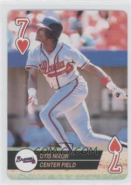 1994 Bicycle Baseball Aces Playing Cards #7 - Otis Nixon