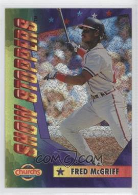1994 Church's Chicken Show Stoppers Restaurant [Base] #6 - Fred McGriff