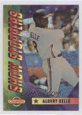 1994 Church's Chicken Show Stoppers Restaurant [Base] #7 - Albert Belle