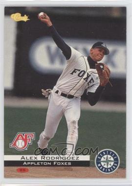 1994 Classic Appleton Foxes Team Set [Base] #C81 - Alex Rodriguez