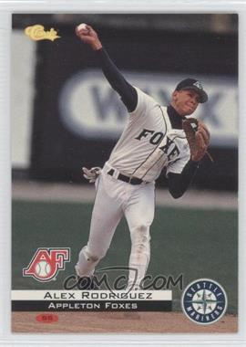 1994 Classic Appleton Foxes Team Set [Base] #C81 - Alex Rodriguez