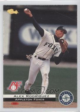 1994 Classic Appleton Foxes Team Set [Base] #CB1 - Alex Rodriguez