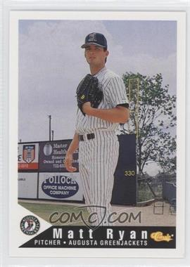 1994 Classic Augusta GreenJackets #21 - Mark Ryal