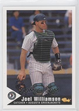1994 Classic Augusta GreenJackets #26 - Joel Williamson