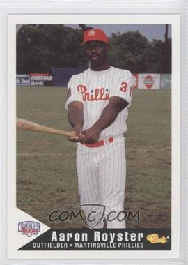 1994 Classic Martinsville Phillies #22 - Aaron Robinson