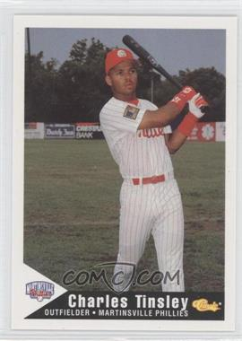 1994 Classic Martinsville Phillies #27 - Charles Tinsley