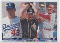 Todd Hollandsworth, Chan Ho Park, Kym Ashworth /8000