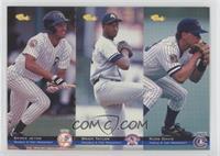 Derek Jeter, Russ Davis, Brien Taylor /8000