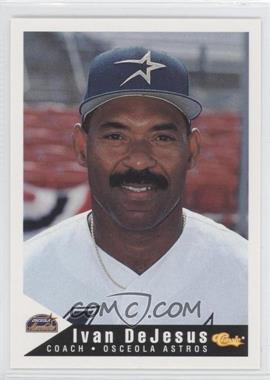 1994 Classic Osceola Astros #28 - Ivan DeJesus