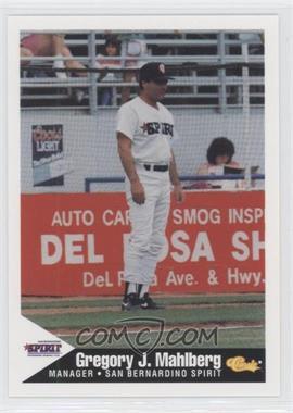 1994 Classic San Bernardino Spirit #25 - Greg Mahlberg
