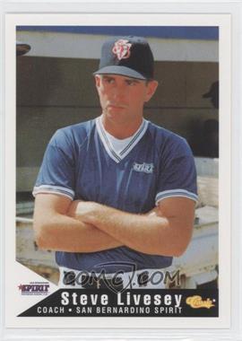 1994 Classic San Bernardino Spirit #27 - Steve Livesey