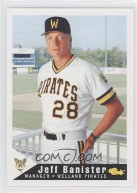 1994 Classic Welland Pirates #29 - Jeff Banister