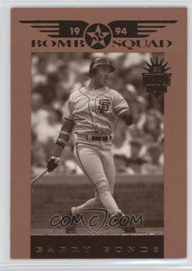 1994 Donruss Triple Play - Bomb Squad #4 - Barry Bonds
