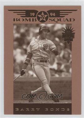 1994 Donruss Triple Play [???] #4 - Barry Bonds