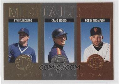 1994 Donruss Triple Play Medalists #6 - [Missing]