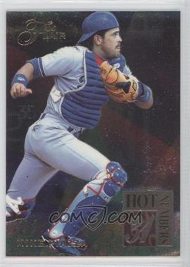1994 Flair Hot Numbers #7 - Mike Piazza