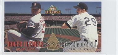 1994 Fleer Extra Bases - Pitchers Duel #1 - Jack McDowell, Roger Clemens