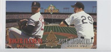 1994 Fleer Extra Bases Pitchers Duel #1 - Jack McDowell, Roger Clemens