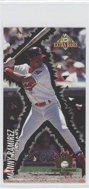 1994 Fleer Extra Bases Rookie Standouts #16 - Manny Ramirez