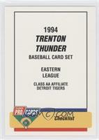 Trenton Thunder Team