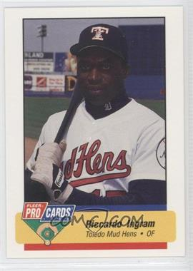 1994 Fleer ProCards Minor League #1039 - Riccardo Ingram