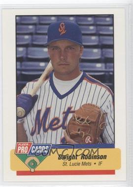 1994 Fleer ProCards Minor League #1205 - Dwight Robinson