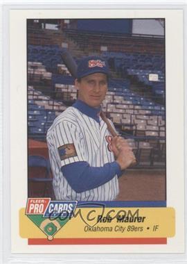 1994 Fleer ProCards Minor League #1500 - Roger Mason