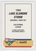 Lake Elsinore Storm Team