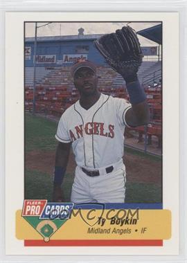 1994 Fleer ProCards Minor League #2443 - Tyrone Boykin