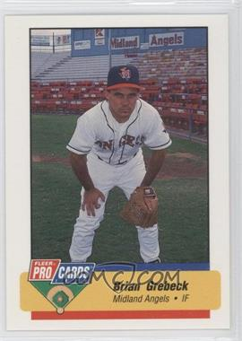1994 Fleer ProCards Minor League #2444 - Brian Grebeck