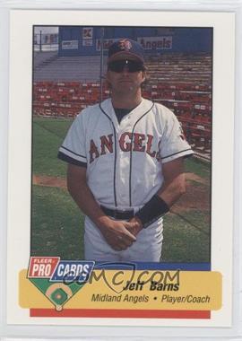 1994 Fleer ProCards Minor League #2454 - Jeff Barns